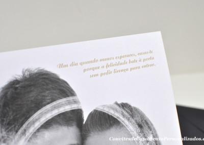 Convite de Casamento Aida e Nuno
