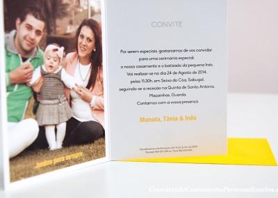 Convite Casamento + Batizado