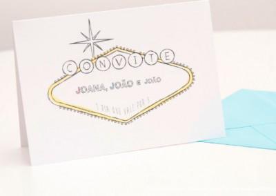 Convite Joana e Joao + João