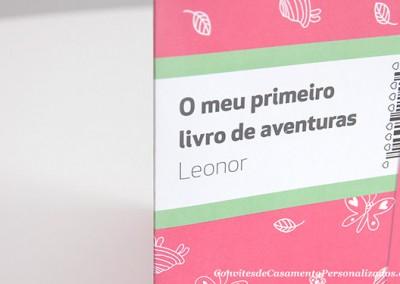 Convite Batizado Leonor