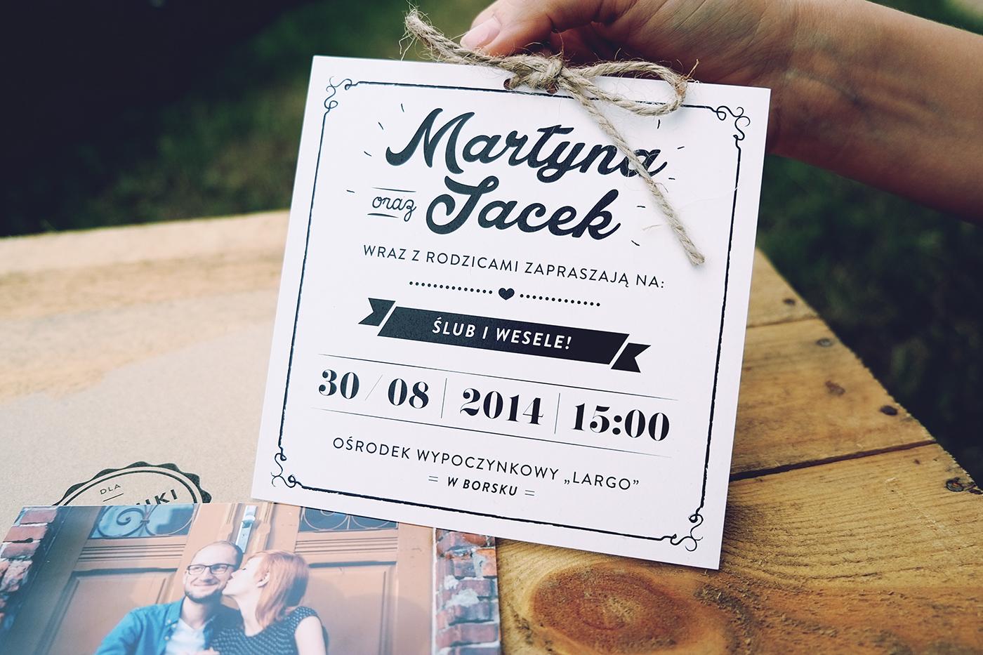 Convite de Casamento Craft papel branco