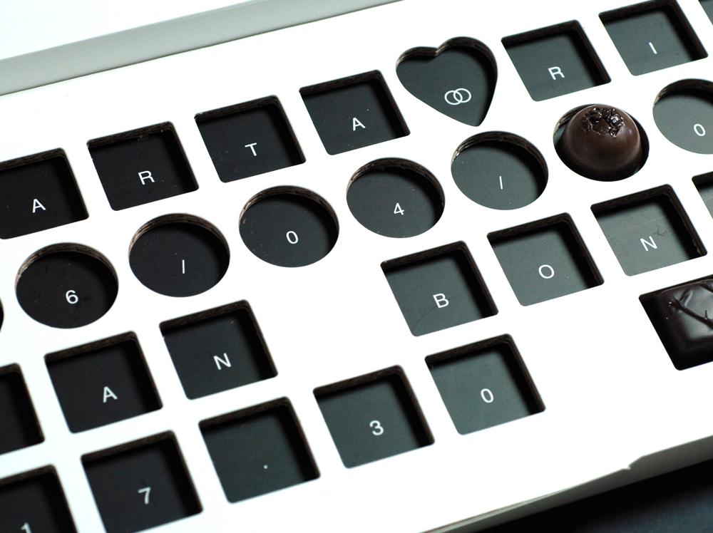 Convite de Casamento Caixa de Chocolates sem chocolates