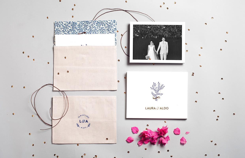 convite casamento natural e ofertas: capa