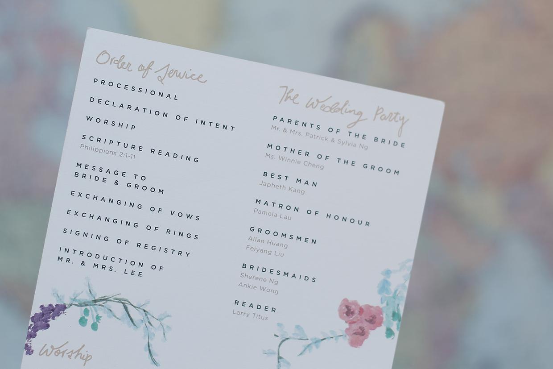 convite de casamento floral aguarela: agenda