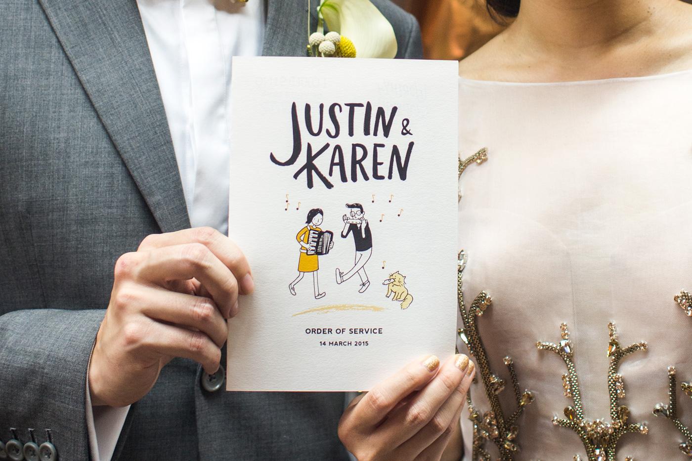 convite casamento poster ilustrado capa
