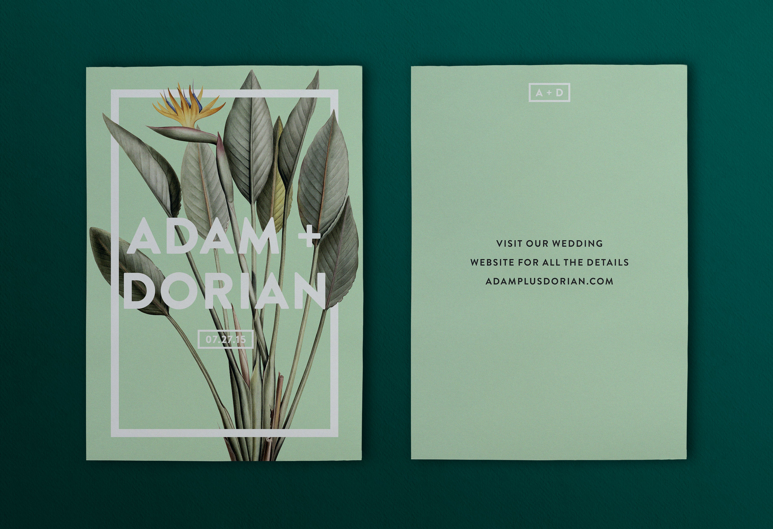 Convite de casamento primavera: site