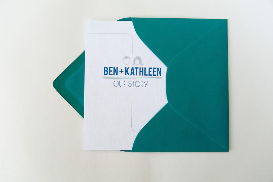 Convite de Casamento diagrama - envelope.