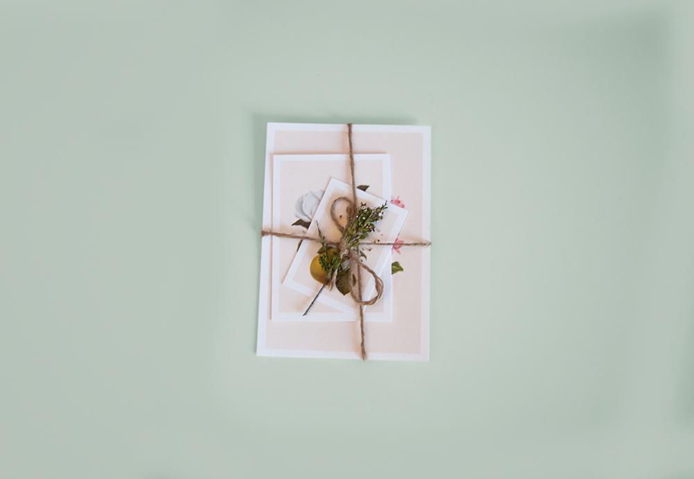convite casamento botanico interior