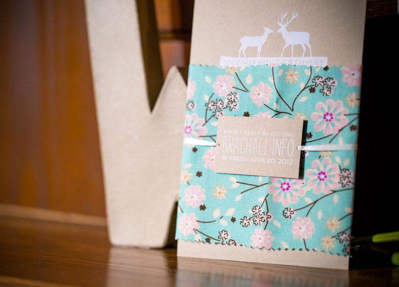 convite de casamento renas mood