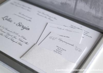 convite casamento premium da lidia e sergio