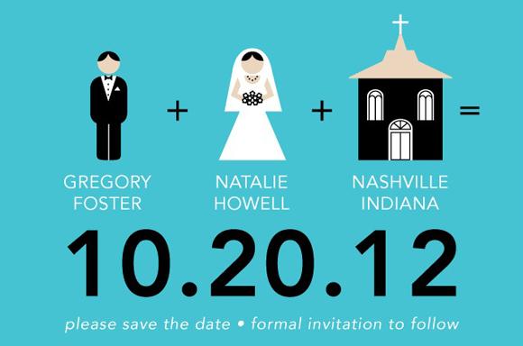 convite de casamento icones