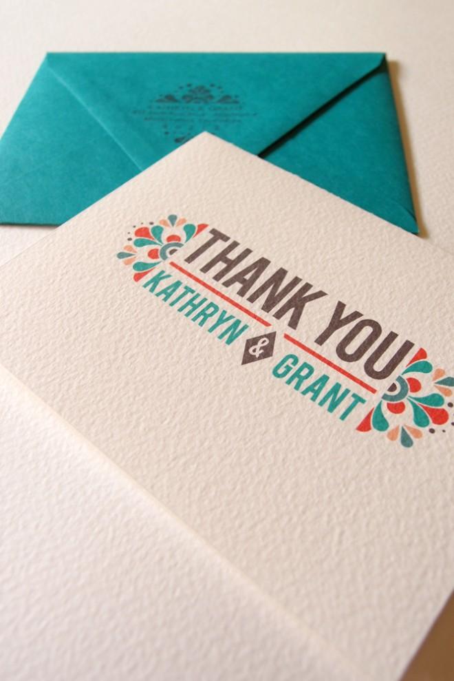 Convite de casamento mexicano agradecimentos