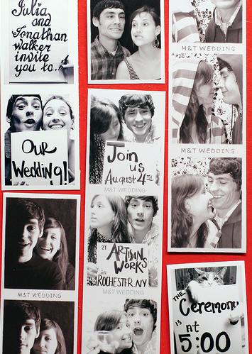 convite de casamento photomaton.pn
