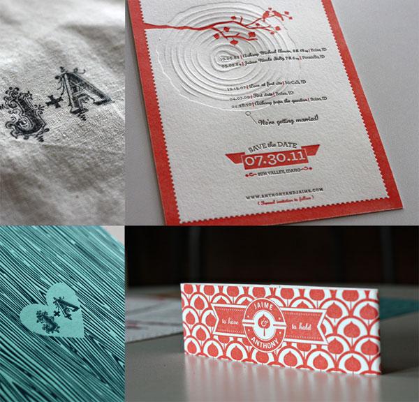 convite de casamento relevo geral
