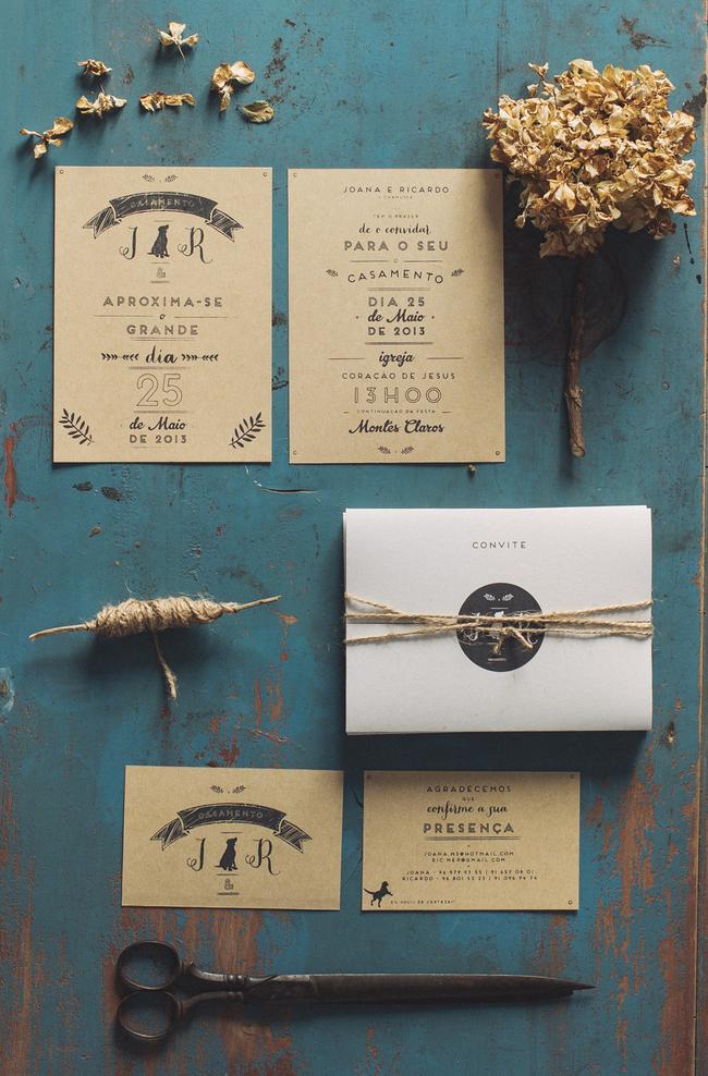 convite de casamento serigrafia