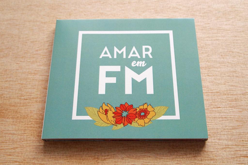 Convite de casamento florido CD