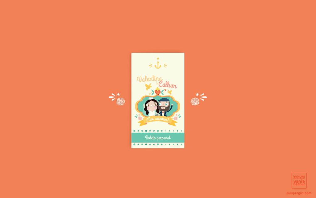 convite de casamento a mexicana - capa