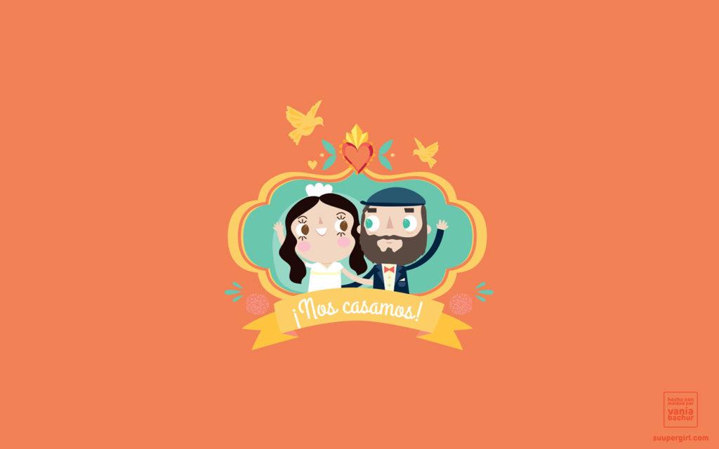convite de casamento a mexicana - logo