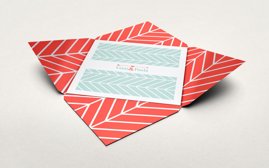 convite de casamento com dobragem especial - abrir