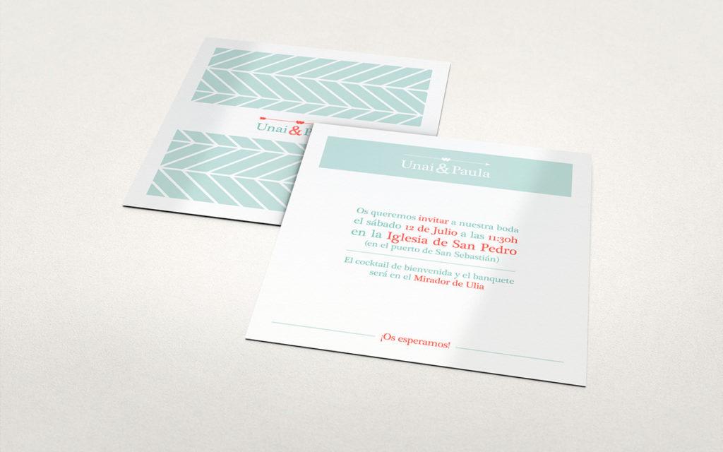 convite de casamento com dobragem especial - convite
