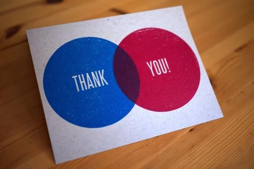 Convite de casamento interesecao agradecimento
