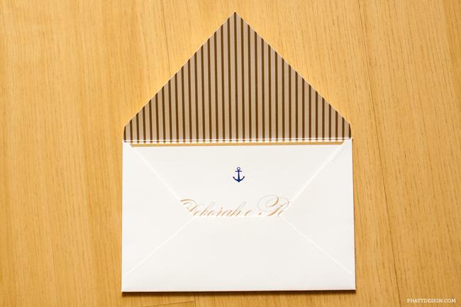 convite de casamento maritimo geral