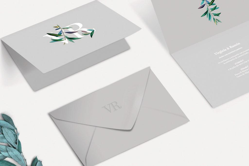 convite de casamento minimalista - geral