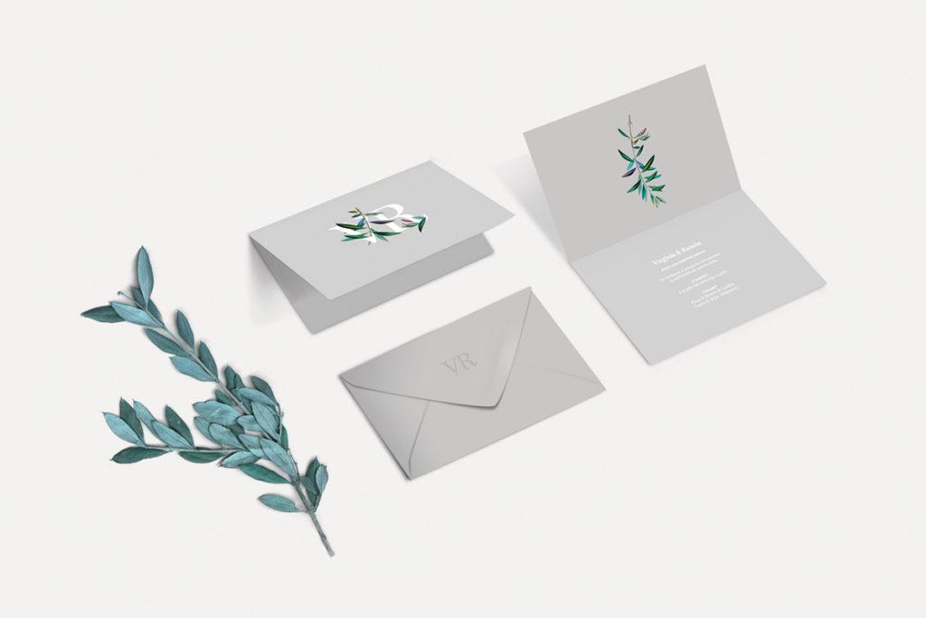 convite de casamento minimalista - mood