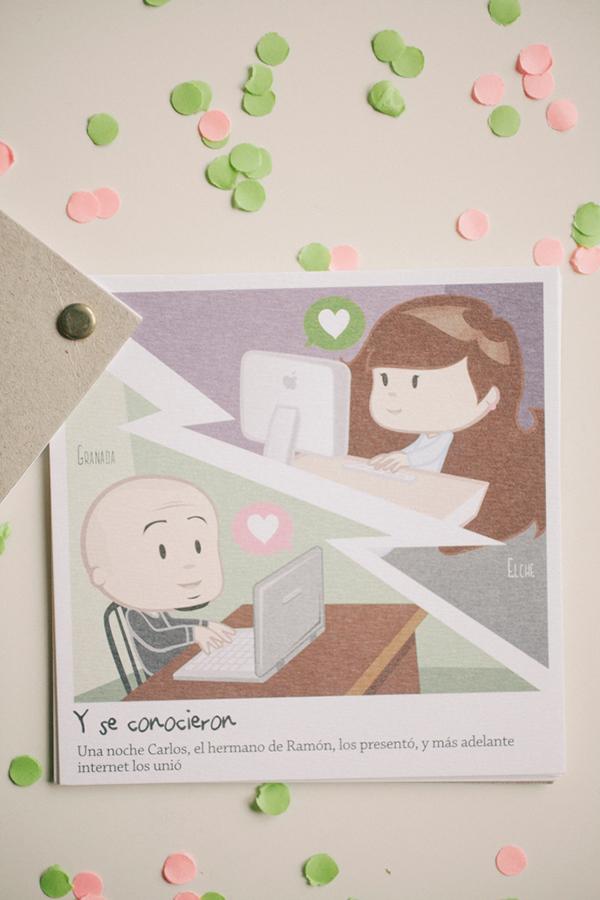 convite de casamento ilustracao - 02