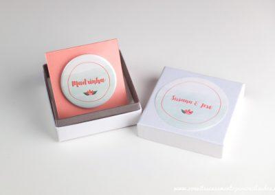 Convite VIP: Floral Stamp