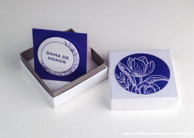 Convite VIP: Floral Blue